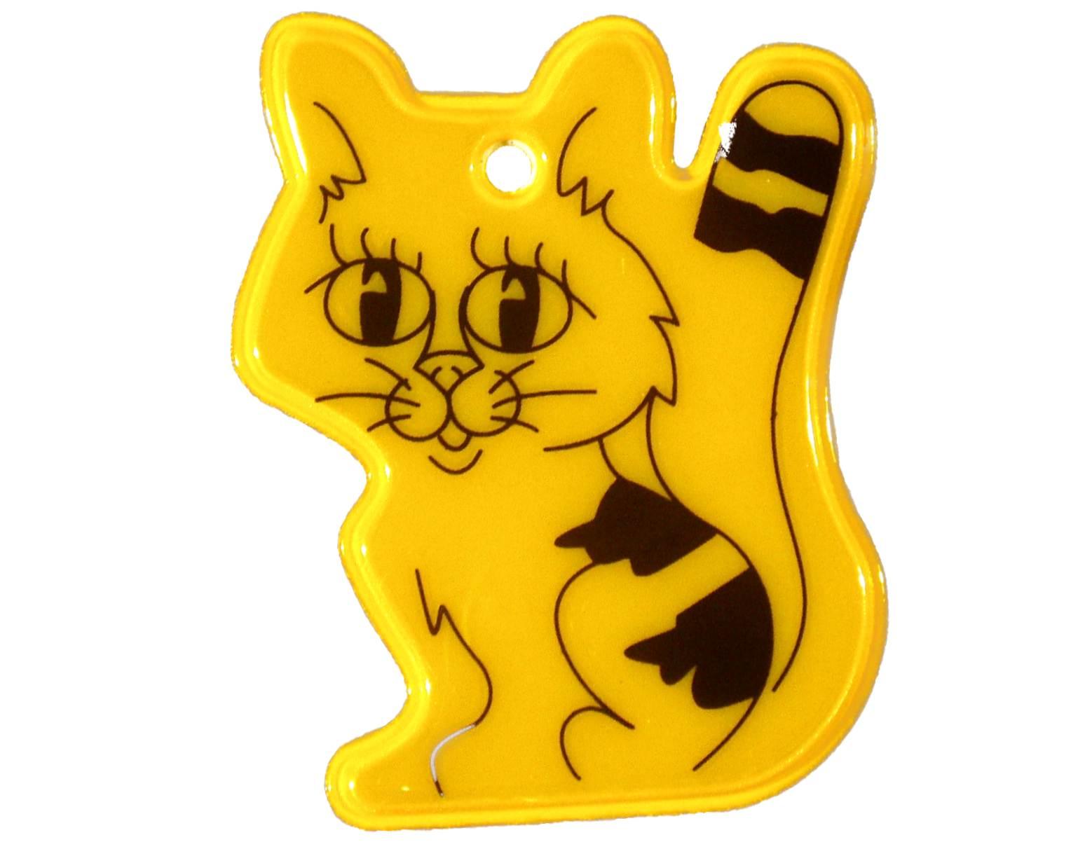 фликер световозвращатель пешеходный кот